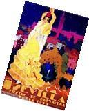 Sevilla Seville Spain Europe European Vintage Travel