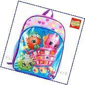 "Shopkins Girls 16"" Large School Backpack Book Bag"
