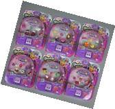 SHOPKINS Season 5 Lot 6 New Complete Packs of 5 Shopkins in