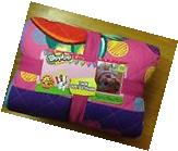 Shopkins Twin Quilt and Sham, 100% Polyester, super soft,