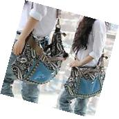 Fashion Women Shoulder Handbag Hobo Satchel Bag Tote