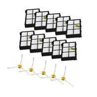 MZY LLC Side Brushes and Filters Replacement For iRobot