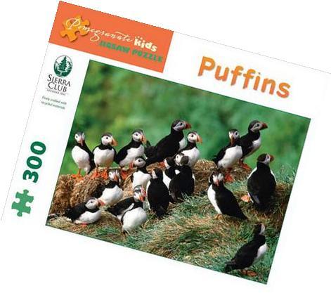 Sierra Club - Puffins: 300 Piece Puzzle