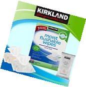 Kirkland Signature Moist Flushable Wipes,632 Wipes Comes
