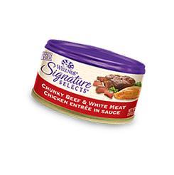 Wellness Signature Selects Grain Free Chunky Beef & White