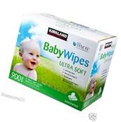Kirkland Signature Baby Wipes Tencel 900 ct - Ultra Soft