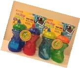NEW 2 Pack Nuby SIPPY CUPS Trainer Sipeez 10oz BPA Free