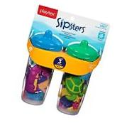 Playtex Sipsters Stage 3 Insulated Spout Sippy Cups - 9