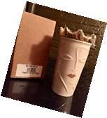 Starbucks Siren Gold Crown Tumbler Coffee MUG 10 oz NIB