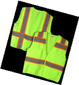 Heavy Duty Reflective High Visibility Neon Green Survey