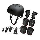 SymbolLife Skateboard / Skate Helmet with Protective Gear