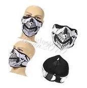 Skull Neoprene Half Face Mask Nect Sport Sk Snowboard