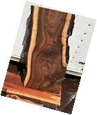 """#525 Slab 46"""" Long 13"""" To 15"""" Wide 1 3/8"""" Thick Live Edge"""