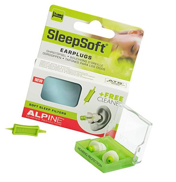 Alpine Sleep Soft Earplugs Comfortable Ear Plugs Reusable