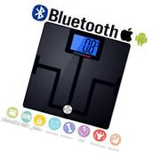Smart Bluetooth Body Fat Scale Digital Bathroom Scale BMI