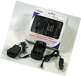 Smart Charger 2 Slot 18650 Li-ion Battery Lithium Charger