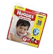 Huggies Snug and Dry Diapers, Size 4, 29 ct