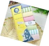8pcs Baby Soft Bath Towel Washcloth Wipe 23 x 23cm