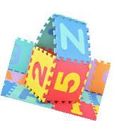 36 PCS Soft EVA Foam Baby Kids Play Mats Children Alphabet