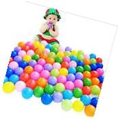 100 Pcs 5.5cm Soft Plastic Colorful Ocean Ball Baby Kids Fun