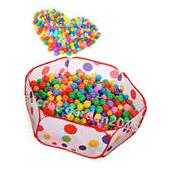50PCS SOFT PLASTIC OCEAN BALL baby kid children TOY SWIM pit