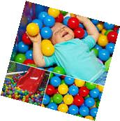 100x Multi-Color Kid Plastic Soft Play Balls Toy for Ball
