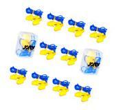 10 Pcs Soft Silicone Ear Plug Reusable Hearing Protection