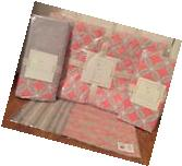 NEW 4PC Pottery Barn Kids Baby Soho Nursery Crib Bedding Set