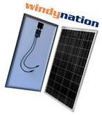 100 Watt 100W 12V 12 Volt Solar Panel Battery Charger RV