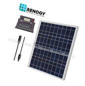 Renogy Solar Panel Off Grid 12V 50W Watts Kit RV Boat Home