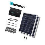 Newpowa Solar Panel 100 Watt 100W 12V PV Off Grid Kit RV