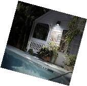 Solar Power Motion Sensor Outdoor Garden Security Gutter