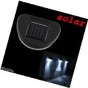 New Outdoor Solar Powered LED Path Wall Landscape Mount