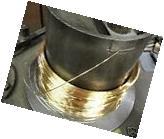 24K SOLID GOLD 30G ROUND WIRE 3 FEET HH