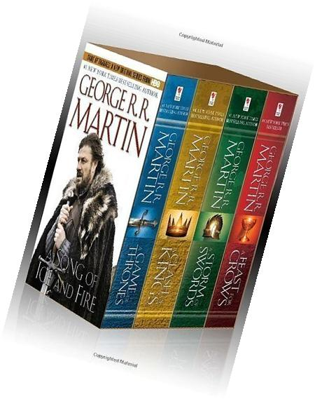 A Song of Ice and Fire, Books 1-4  by Martin, George R.R.
