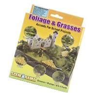 Woodland Scenics SP4120 Foliage and Grasses Diorama Kit