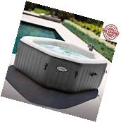 Inflatable Hot Tub Spa Intex Portable Jacuzzi Heated Bubble