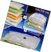 4 PACK MEDIUM Space Saver Bags Storage Bag Vacuum Seal Organizer NEW