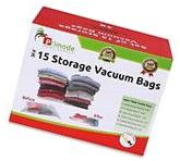 Space Saver Vacuum Storage Bag Protect Clothing 15 Count