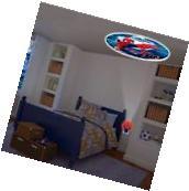 Spider Man Kids Bedroom LED Plug-In Night Light Projectable