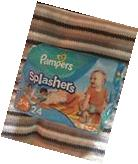 Pampers Splashers Disposable Swimpants  Size  3-4  16-34 lbs