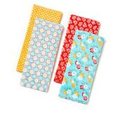 Pioneer Woman Spring Floral 4 Pack Kitchen Towels Multi-