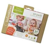 Baby Squeeze Pouches Infantino 50 Count Fresh Food Freezer