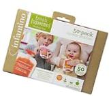 Infantino Squeeze Pouches 4-Fl for Semi-Solid Puree, New
