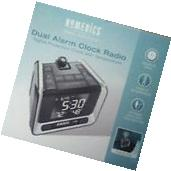 BRAND NEW! Homedics SS-5050A DUAL ALARM Projection Clock