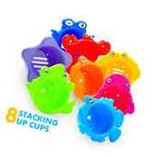 Stacking Cups Educational Bath Toys Toddler Fun Sea Animals