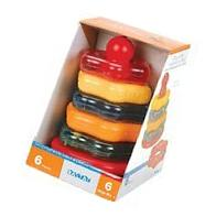 Battat Stacking Rings and Rattle Toy