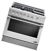 """DCS Professional Stainless RGV364GDN 36"""" Pro-Style Slide-In"""