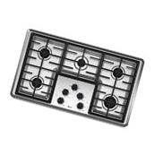 """Whirlpool 36"""" Stainless Steel Gas Cooktop - W5CG3625XS"""