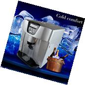 Portable Countertop Ice Cube Maker Machine with Cool Water